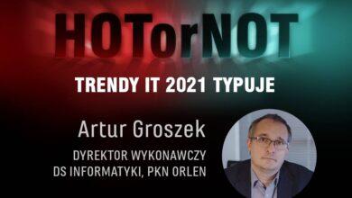 Trendy 21: HOT or NOT? Typuje Artur Groszek, PKN Orlen