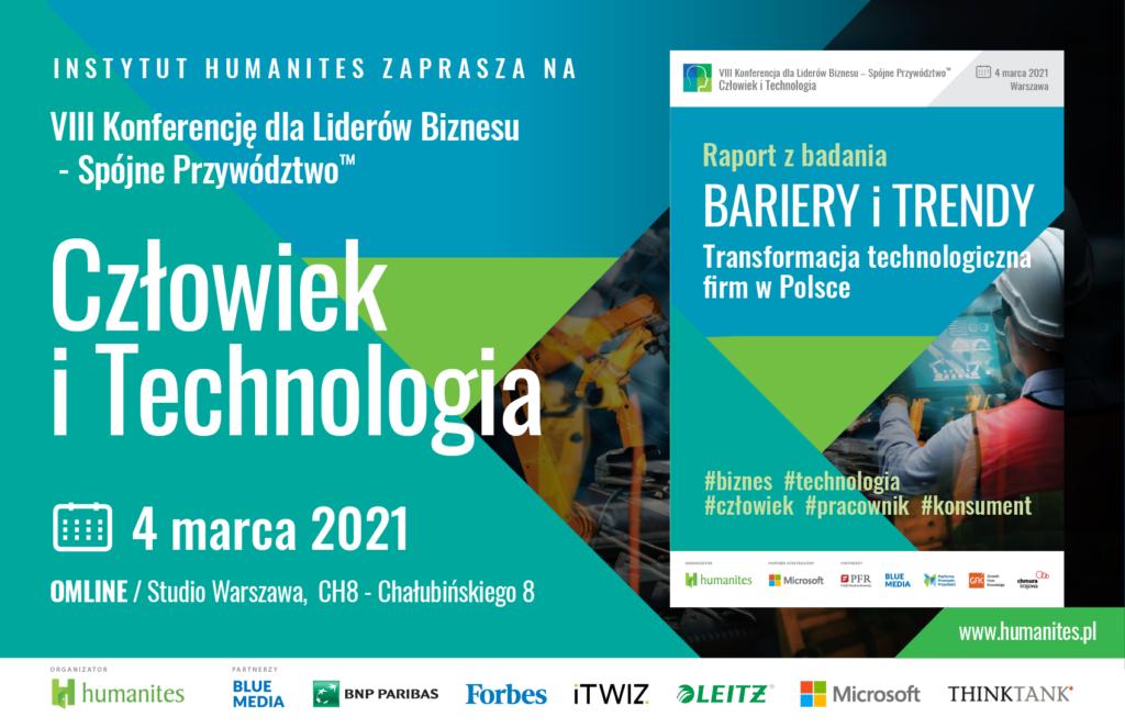 ITwiz partnerem VIII edycji konferencji Spójne Przywództwo – Człowiek i Technologia