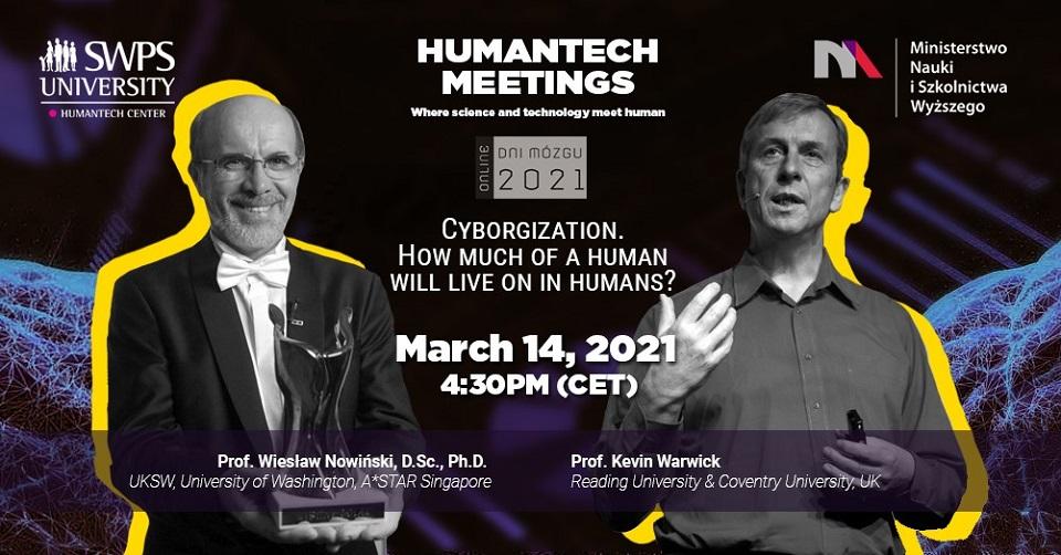 HumanTech Meetings: Cyborgizacja. Ile pozostanie człowieka w człowieku?