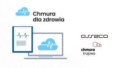 Asseco i Chmura Krajowa tworzą spółkę Chmura dla zdrowia, która ma wspierać cyfryzację służby zdrowia