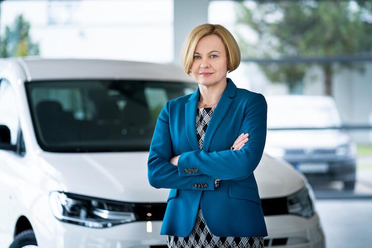 Agnieszka Olenderek członkiem zarządu odpowiedzialnym za obszar finansów, zakupów oraz IT w Volkswagen Poznań