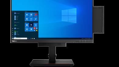 Lenovo ThinkCentre M75q Tiny 2. generacji w kieszeni monitora ThinkCentre TIO 24 Touch – idealny zestaw dla domowego biura