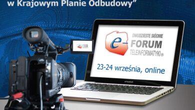 """XXVII Forum Teleinformatyki: """"Cyfrowa transformacja w Krajowym Planie Odbudowy"""""""