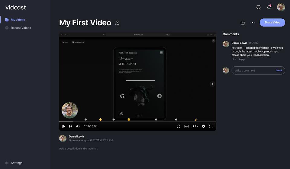 Vidcast – narzędzie do nagrywania wiadomości wideo od Cisco