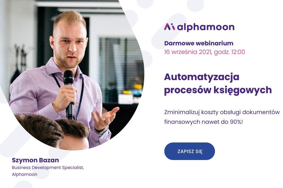 Alphamoon: Wykorzystanie sztucznej inteligencji winduje automatyzację procesów na nowy poziom